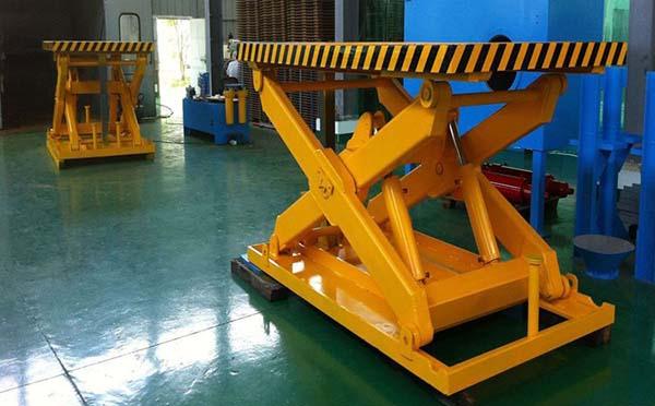 上海牛力机械固定液压升降机图片
